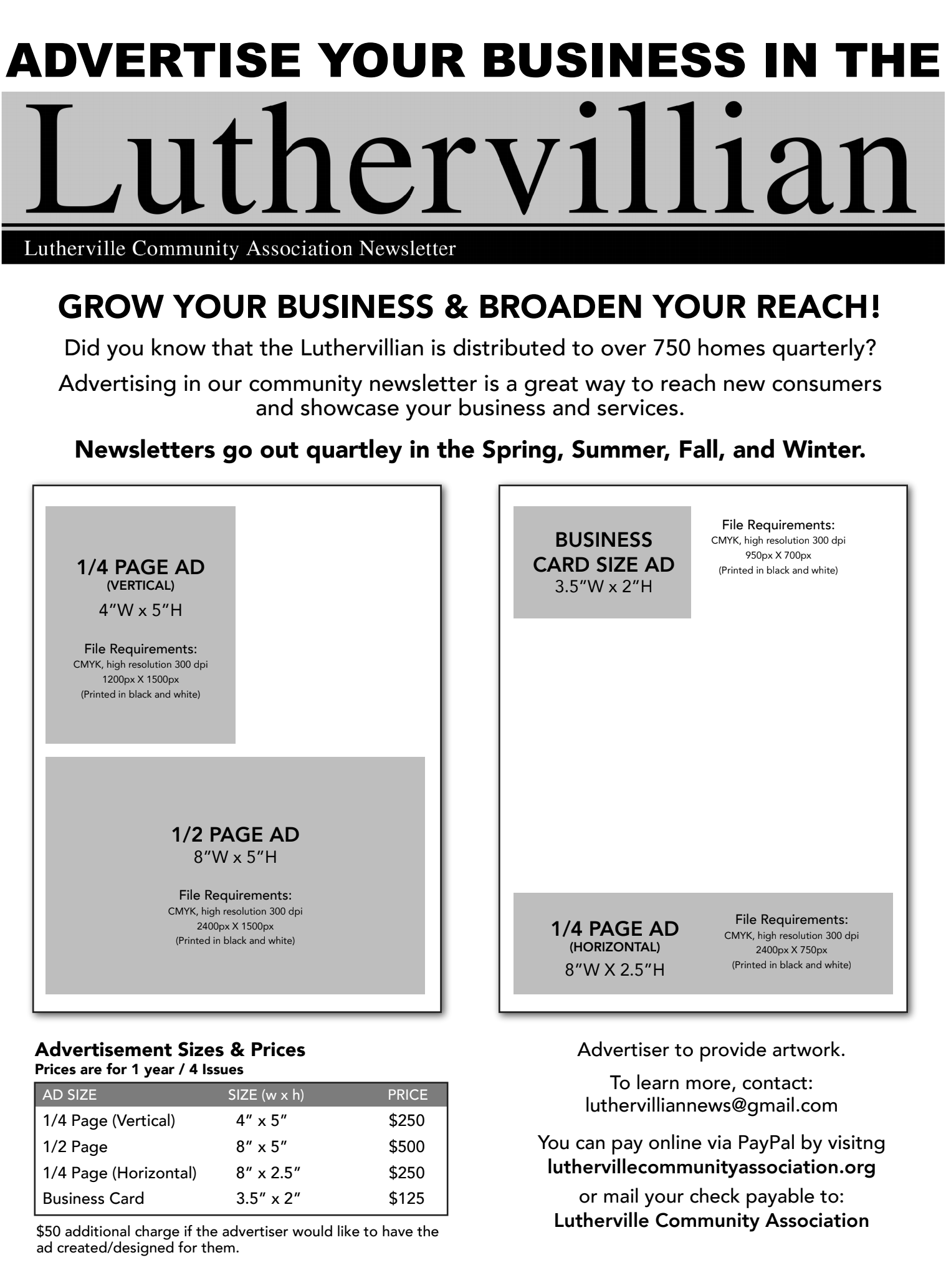 Advertise-in-the-Newsletter
