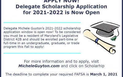 Delegate Scholarships