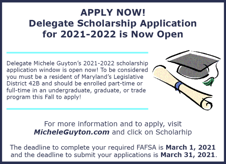 Delegates Scholarship