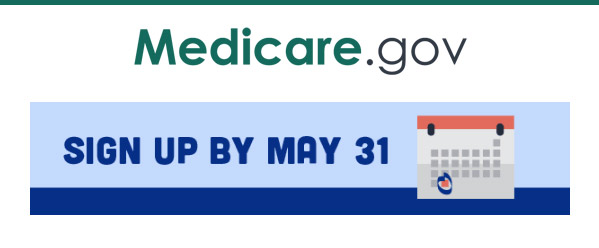 Sign up for a Medicare E-Handbook by May 31st